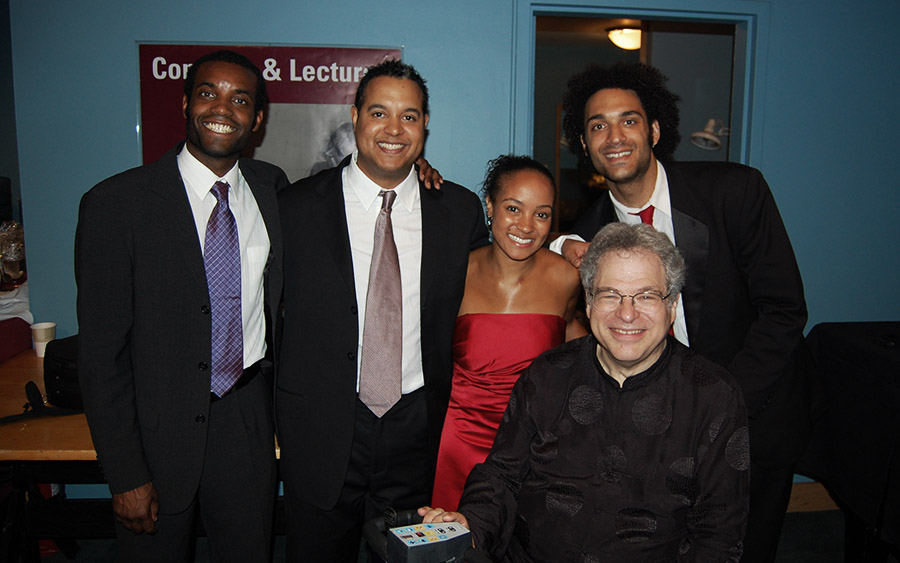 Harlem Quartet with Itzhak Perlman